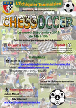 Affiche Chessoccer 2011