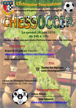 Affiche Chessoccer